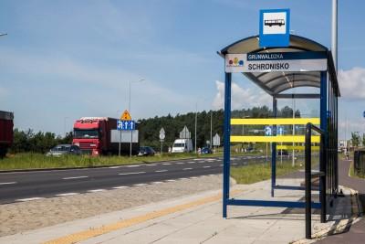 Grunwaldzka-Schronisko_przystanek autobusowy_komunikacja miejska - SM (2)