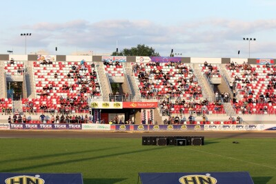 Indywidualne Mistrzostwa I Ligi Żużlowej_stadion Polonii Bydgoszcz_nowa trybuna_sektor B - SF