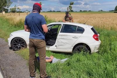 Lipno_zatrzymanie_narkotyki_Nadwiślański Oddział Straży Granicznej