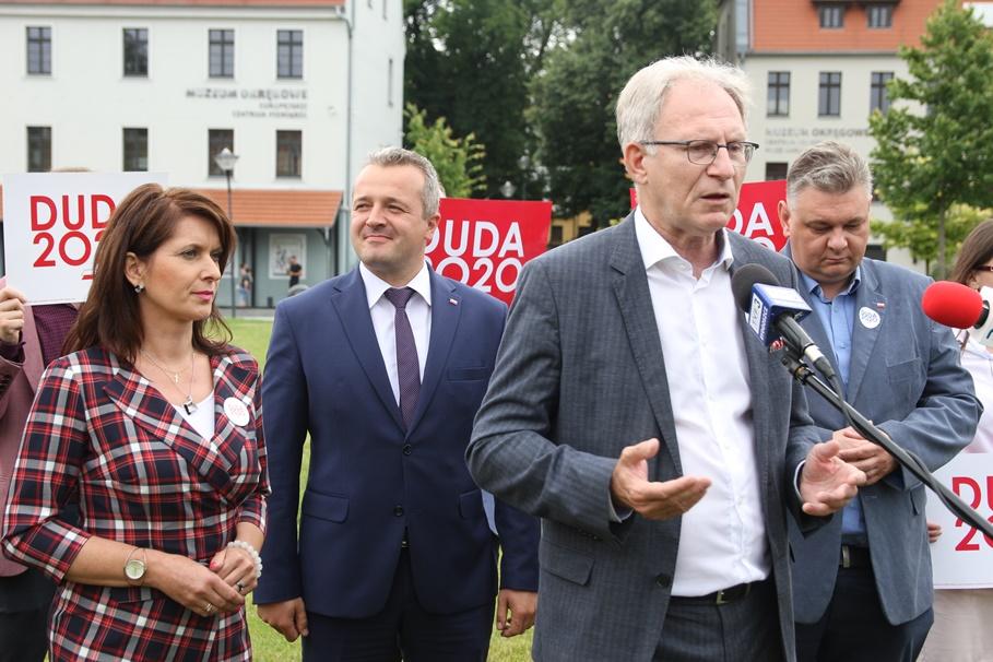 PiS Bydgoszcz_ Tomasz Latos, Mikołaj Bogdanowicz, Ewa Kozanecka, Piotr Król - SF