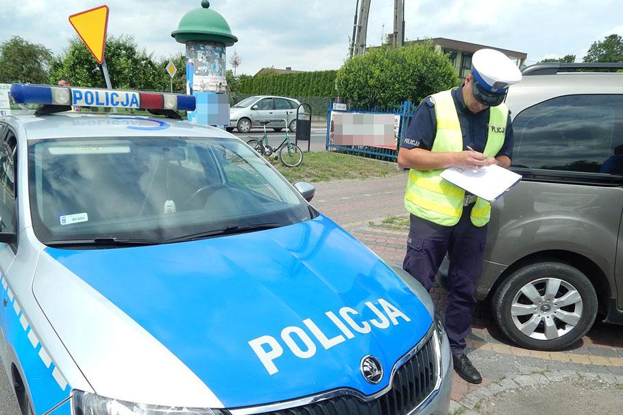 kolizja_policja_rowerzysta_radziejow_KPPRadziejow