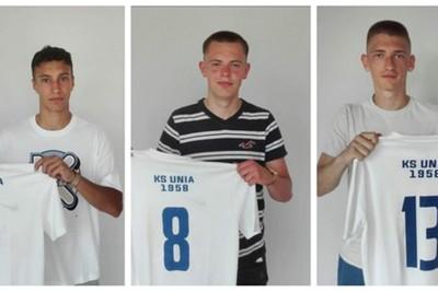 nowi piłkarze unia janikowo - mat klubu