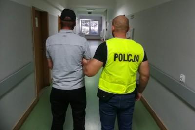 zatrzymanie_kradzież terminala - KMP Włocławek