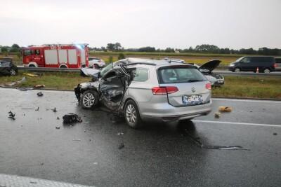 22-08-2020_wypadek autostrada A1 Stannowo_KPP Aleksandrów Kujawski-1