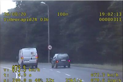 26-08-2020_kontrola prędkości, citroen - KMP Grudziądz_wideorejestrator