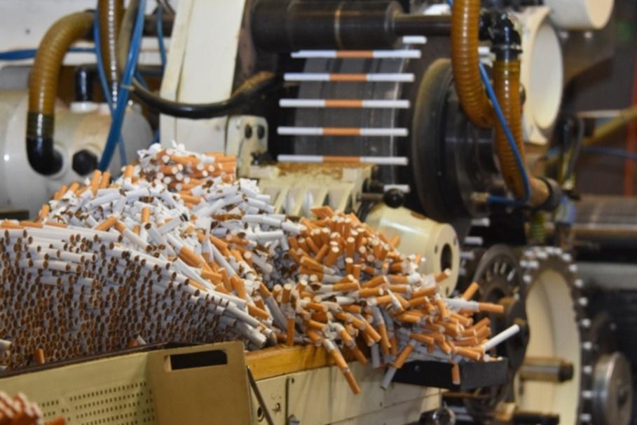 26-08-2020_zlikwidowana fabryka papierosów-Niemcy-mat. CBŚP-5