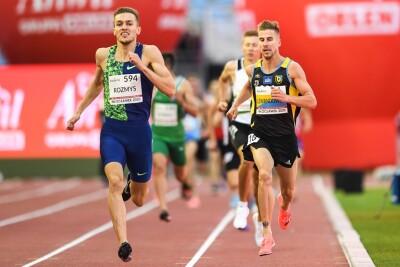 28-08-2020_lekka atletyka, mistrzostwa Polski_Włocławek_bieg na 1500 metrów_Marcin Lewandowski, Michał Rozmys - Paweł Skraba
