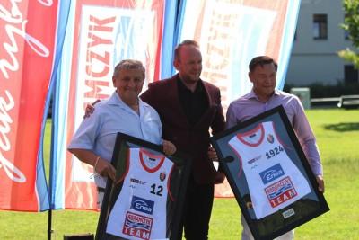 6-08-2020_Enea Astoria Bydgoszcz_Abramczyk_Konferencja_Bartłomiej Dzedzej, Czesław Abramczyk, Piotr Kośmicki - SF-2