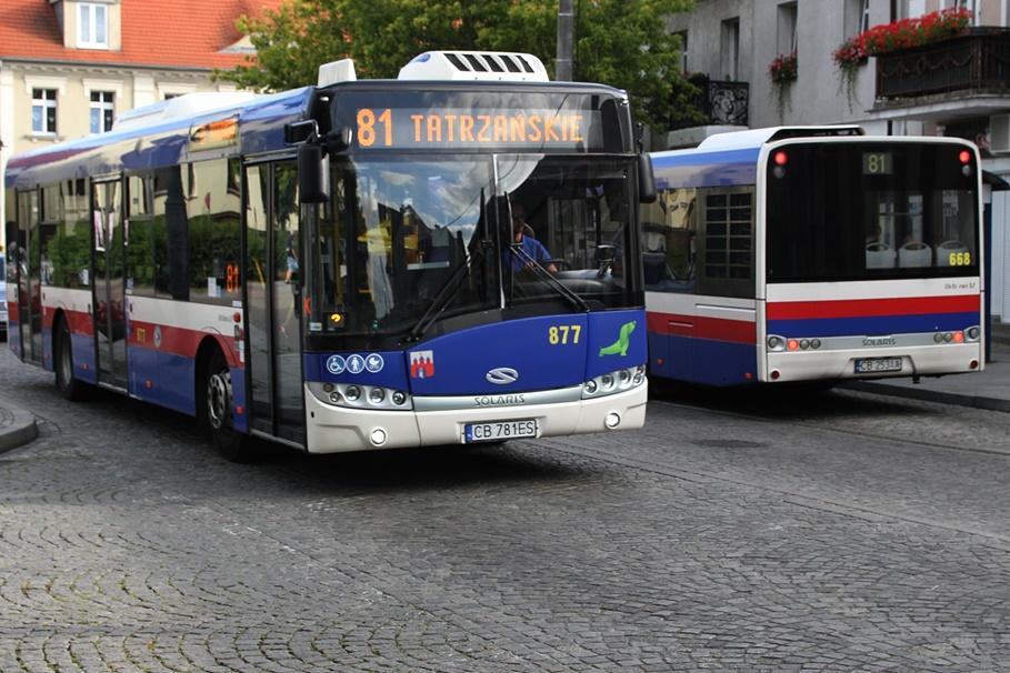 Autobus - linia 81, Stary Fordon - SF