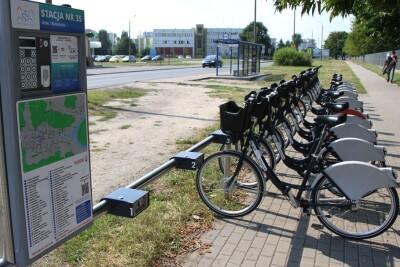 Bydgoski Rower Aglomeracyjny_stacja Glinki-Białostocka - SF