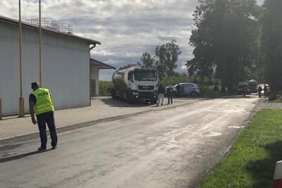 1-09-2020_wypadek DW543 Robakowo, pow. chełmiński - KPP Chełmno