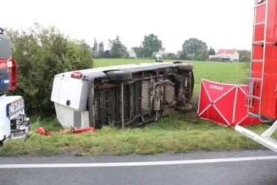26-09-2020_śmiertelny wypadek DK25 Tarkowo Górne_KPP Inowrocław