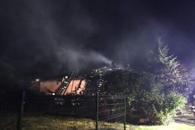 31-08-2020_pożar budynku mieszkalnego pow. Inowrocławski_OSP Janikowo-4