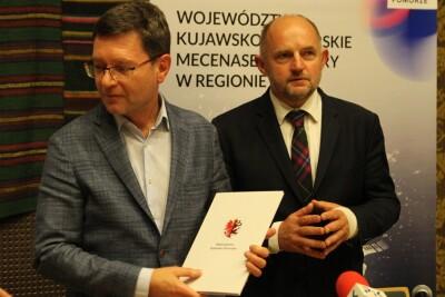 7-09-2020_konferencja prasowa_Piotr Całbecki, Maciej Figas - SF