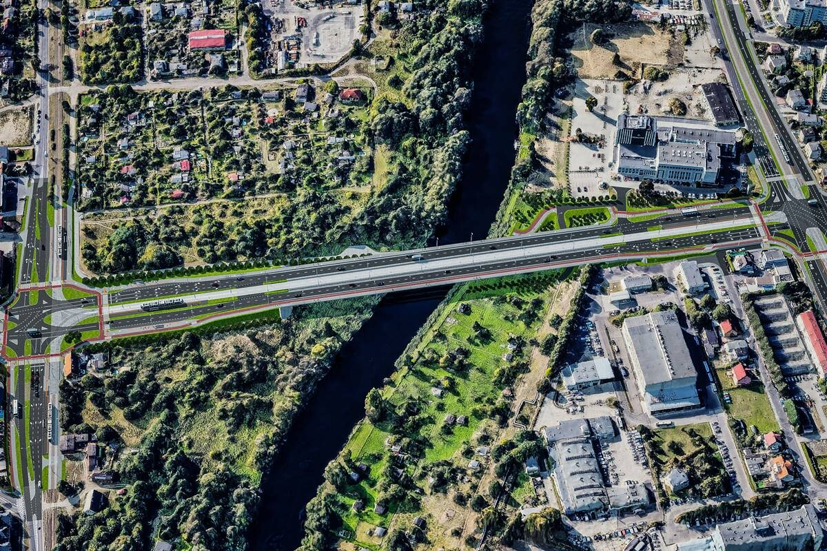 nowe mosty kazimierza wielkiego wizualizacja ZDMIKP