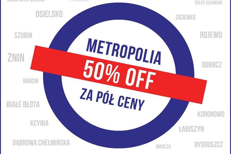 plakat Metropolia za pół ceny 2020-fragment