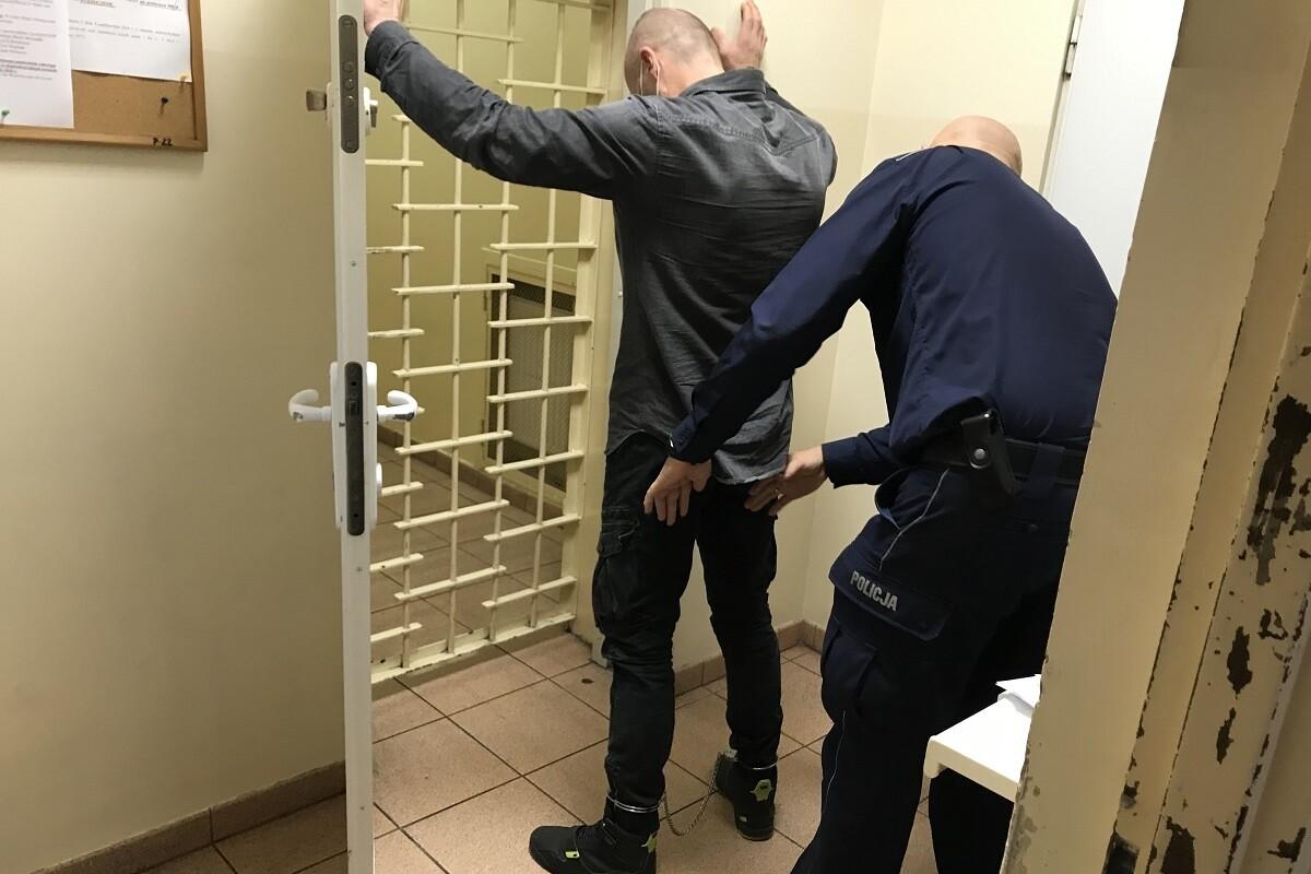 zatrzymany_Nakło_policja_KPP Nakło-1