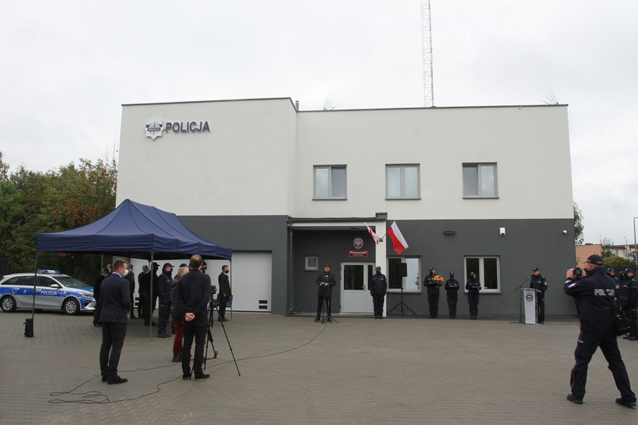 2-10-2020_otwarcie posterunku policji_Osowa Góra, Sardynkowa Bydgoszcz - SF (13)
