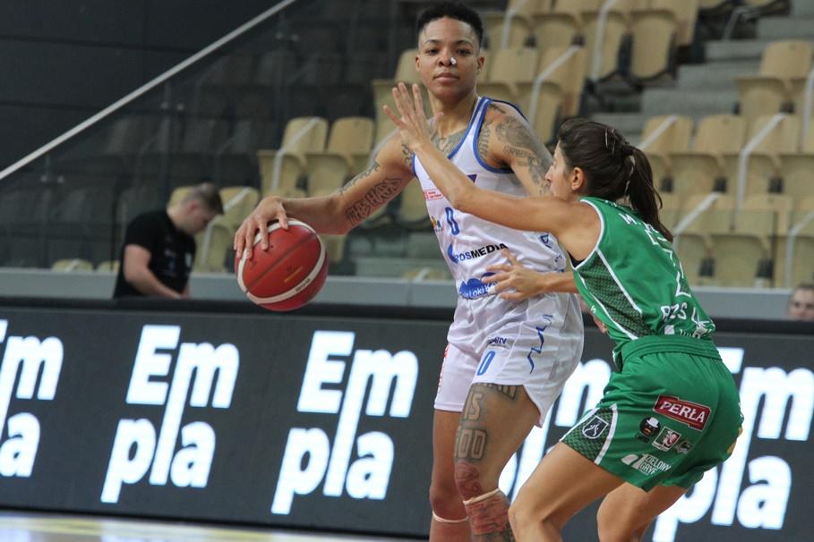 28-10-2020_koszykówka_Energa Basket Liga Kobiet_KS Basket 25 Bydgoszcz-Pszczółka AZS UMCS Lublin - SF (8) - Janessa Jeffery