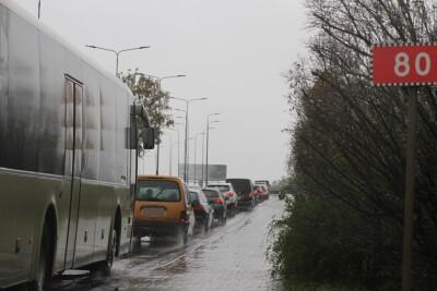 Bydgoszcz_Wiadukty Warszawskie_korek_samochody_traffic_DK80 - SF