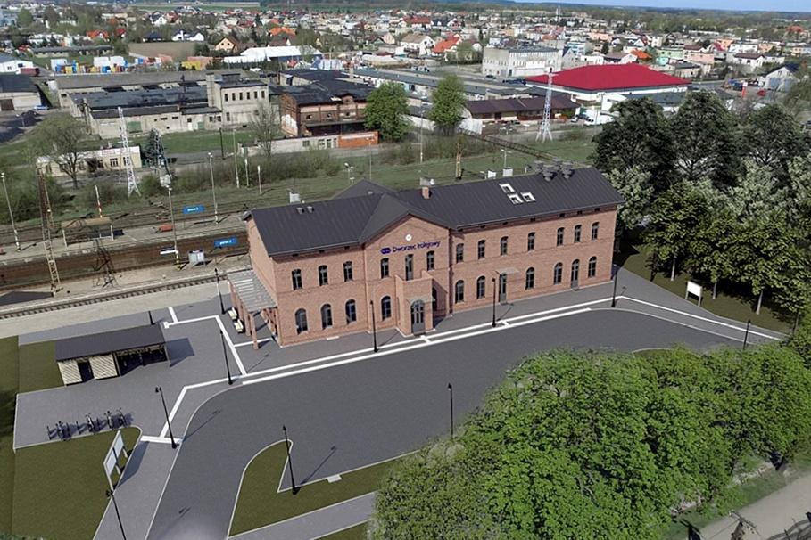 Dworzec Kolejowy_Mogilno_wizualizacja-PKP