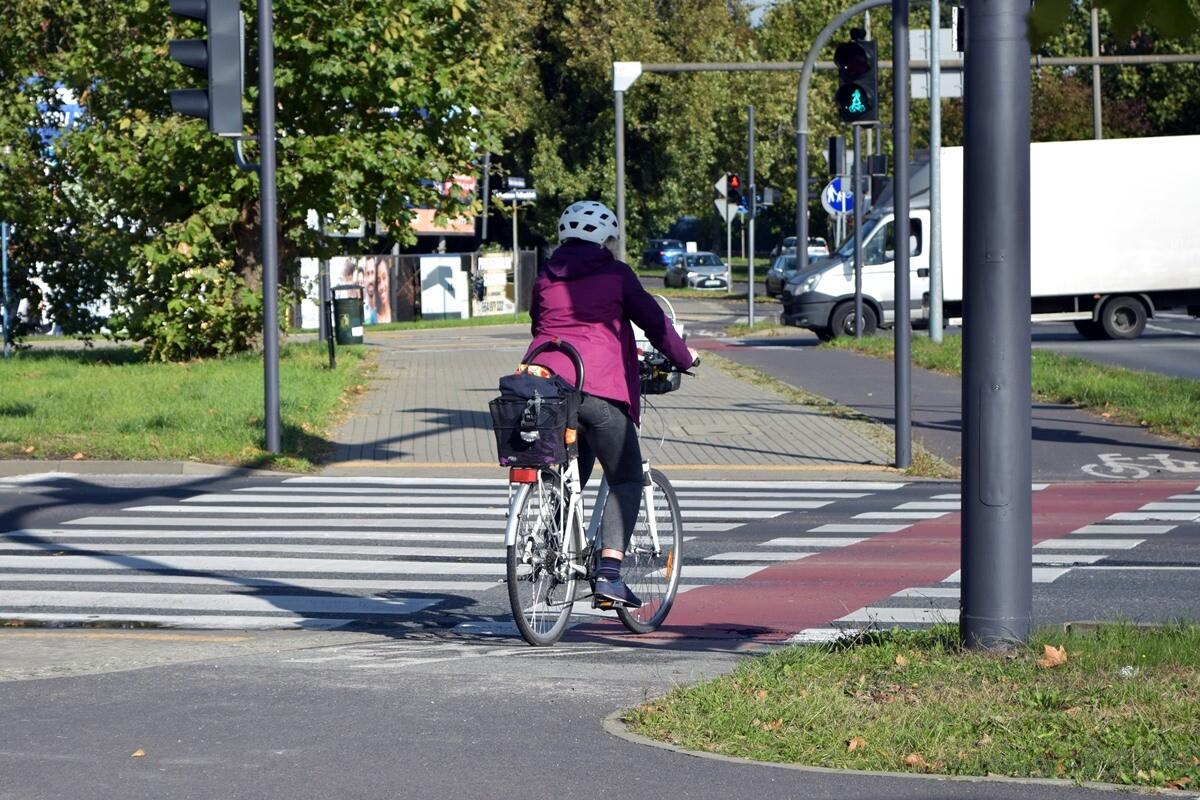 ogińskiego, rower, droga rowerowa - kk