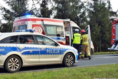 policja, ambulans, straż pożarna_na sygnale_Kujawsko-Pomorskie - ZK