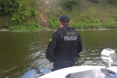 policja_jezioro_woda_utonięcie_Kujawsko-Pomorskie - KMP Włocławek