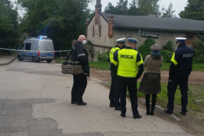 wypadek motocyklisty Chełmża