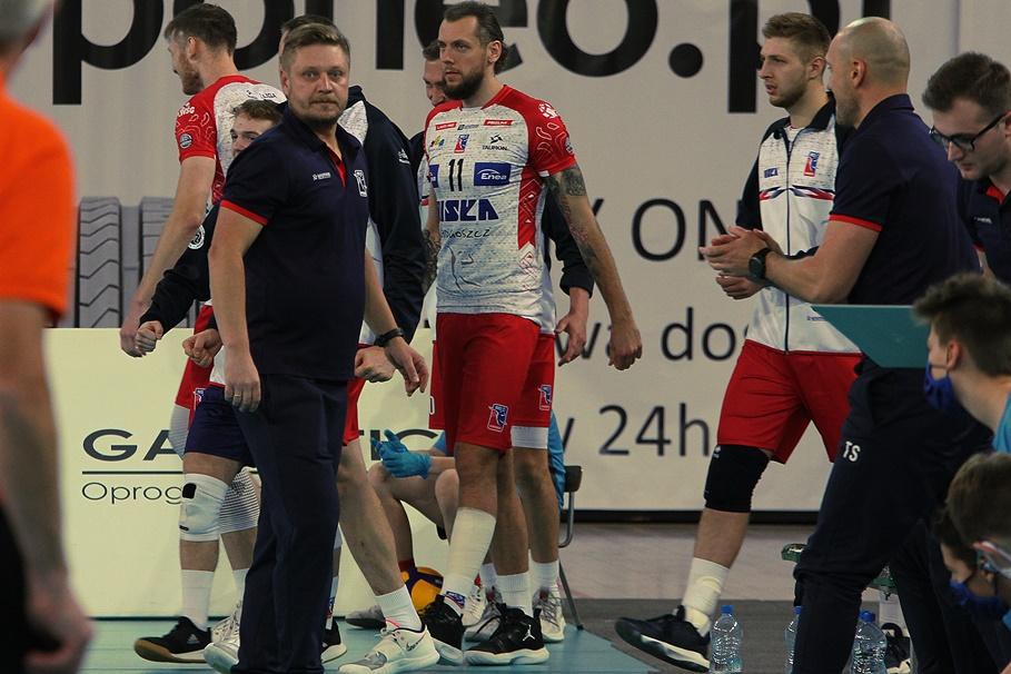 10-11-2020_siatkówka_Tauron I Liga_BKS Visła Bydgoszcz - BBTS Bielsko-Biała - Marcin Ogonowski, Patryk Strzeżek - SF (24)
