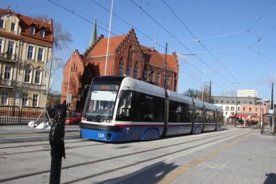 20-11-2020_budowa_linia tramwajowa_Kujawska Bydgoszcz_przejazd testowy_tramwaj - SF (12)