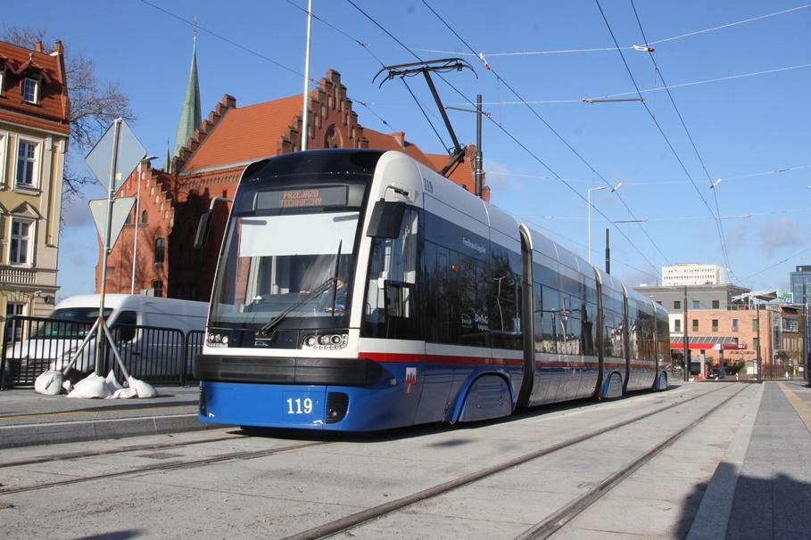 20-11-2020_budowa_linia tramwajowa_Kujawska Bydgoszcz_przejazd testowy_tramwaj - SF (13)
