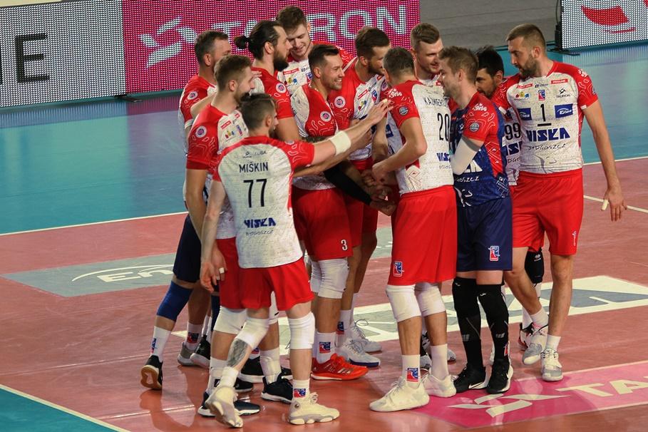 7-11-2020_siatkówka_Tauron I Liga_BKS Visła Bydgoszcz - ZAKSA Strzelce Opolskie - SF (4)