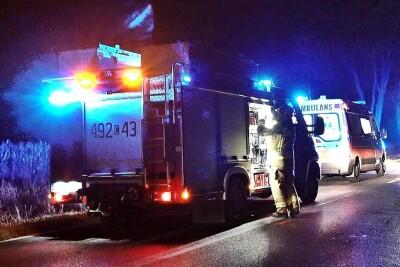 Ambulans_Straż Pożarna_na sygnale - MR-1