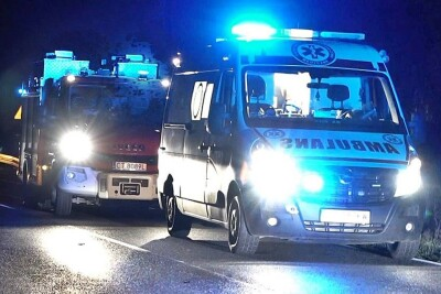 Ambulans_Straż Pożarna_na sygnale - MR