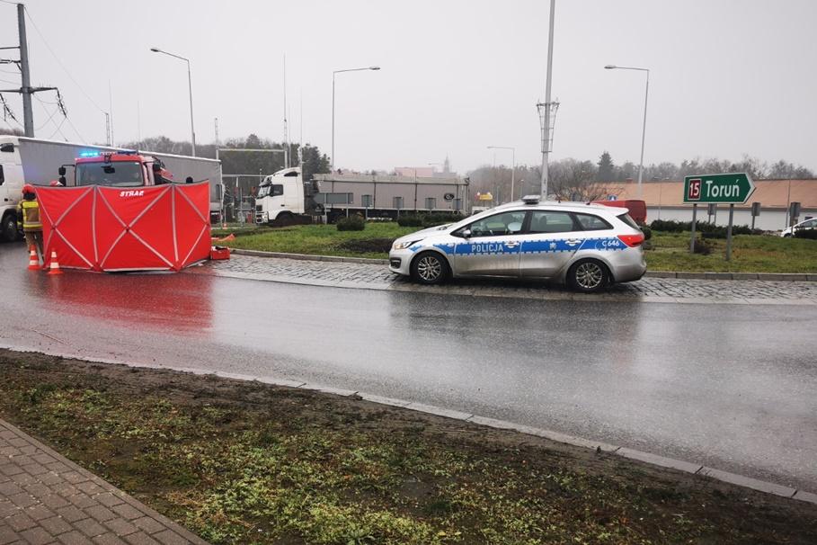 16-12-2020_wypadek_DK15_Brodnica_KPP Brodnica