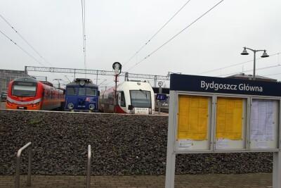 Pociąg_POLRegio_InterCity_Arriva_Dworzec PKP Bydgoszcz-Główna - SF