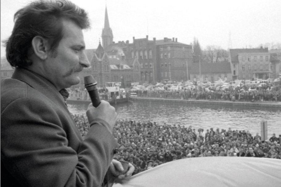 Lech Wałęsa w Bydgoszczy