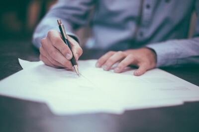 pismo, testament, podpis - pixabay