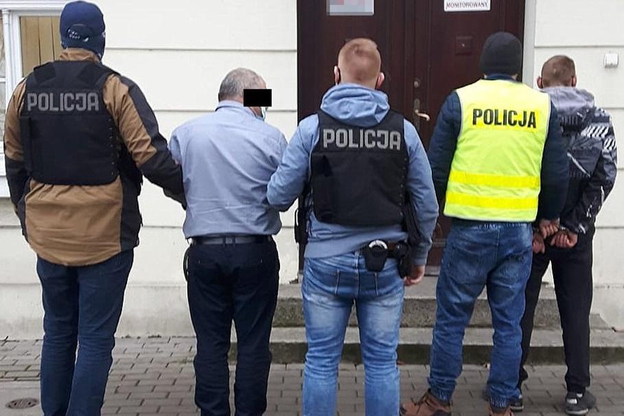 zatrzymani_kradzieże_powiat bydgoski_KWP Bydgoszcz