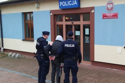 zatrzymany_policja_Białe Błota_KWP Bydgoszcz
