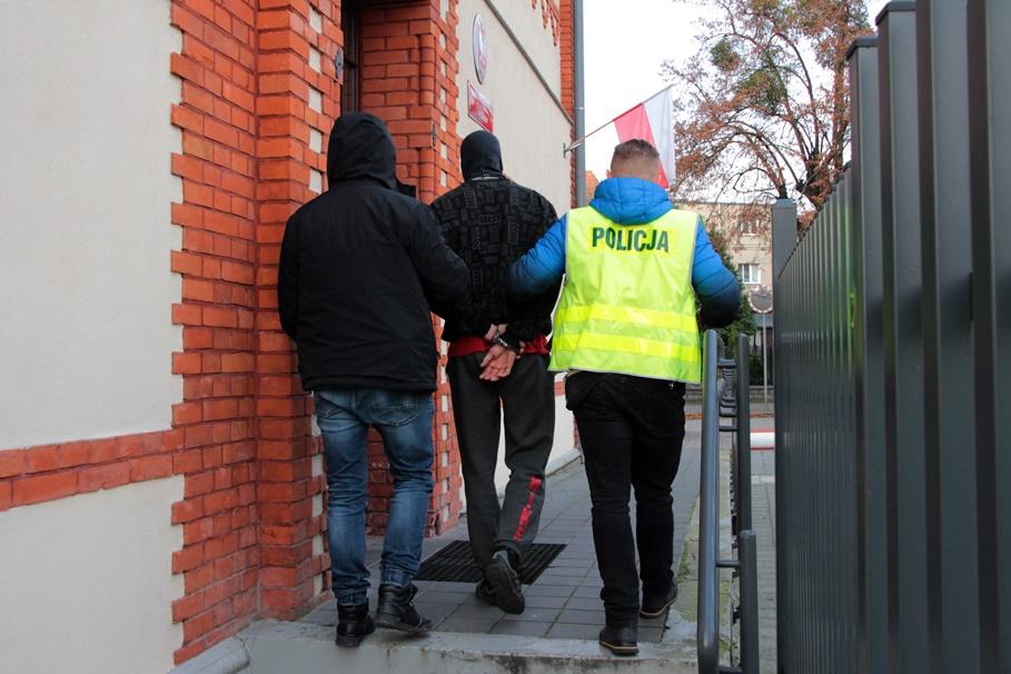 zatrzymany_rozbój_KPP Chełmno