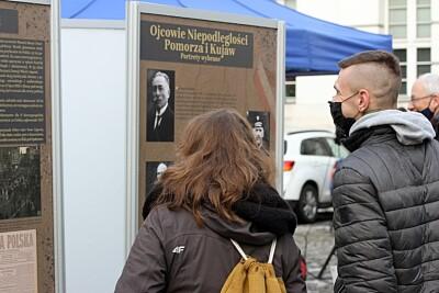 20-01-2021_101 rocznica powrotu Bydgoszczy do Macierzy_wystawa IPN_Jagiellońska - SF (5)