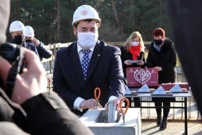 22-01-2021_Bydgoszcz_Fordon_UTP_wmurowanie kamienia węgielnego_rozbudowa kampusu uczelni - prof. Marek Adamski - SF-3