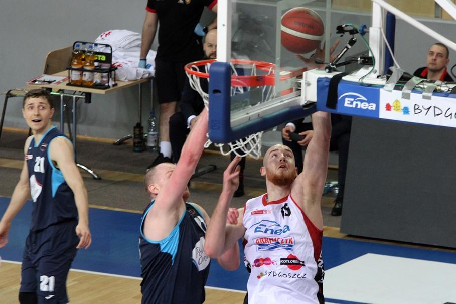 8-01-2021_koszykówka_Energa Basket Liga_Enea Astoria Bydgoszcz - Polski Cukier Toruń_Adrian Bogucki, Damian Kulig - SF