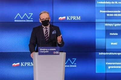 Adam Niedzielski_Ministerstwo Zdrowia_Adam Guz-KPRM