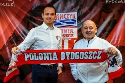 Lech Kędziora, Krzysztof Kanclerz - Abramczyk Polonia Bydgoszcz, mat. prasowy