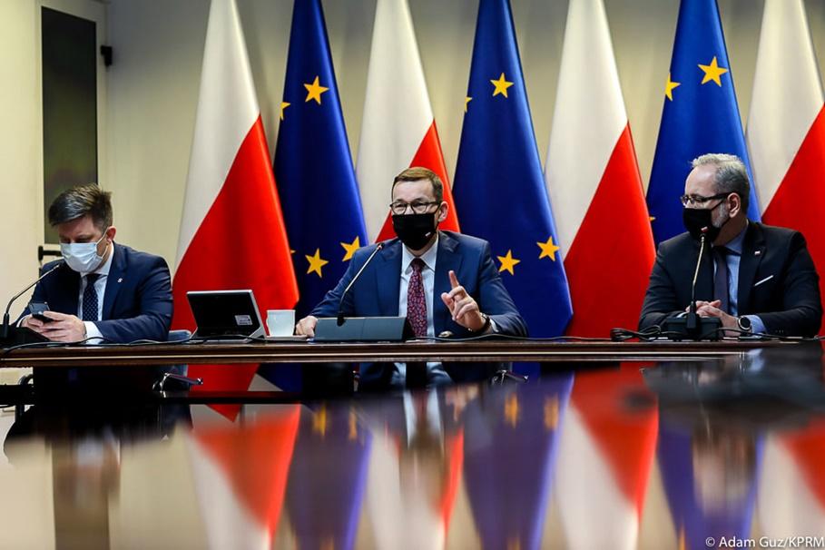 Mateusz Morawiecki, Adam Niedzielski, Michał Dworczyk