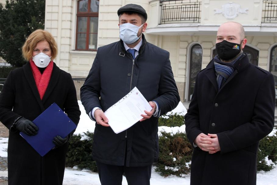 Grażyna Szabelska, Jarosław Wenderlich, Paweł Bokiej