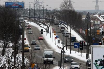 9-02-2021_traffic_Bydgoszcz_Wiadukty Warszawskie - SF
